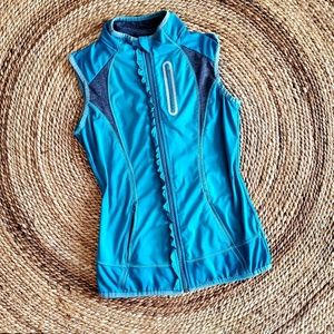 Athleta Ruffle Fitted Athletic Running Vest